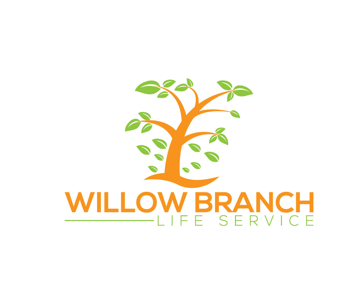 Logo Design by Naeem Billah - Entry No. 115 in the Logo Design Contest Artistic Logo Design for Willow Branch Life Service.