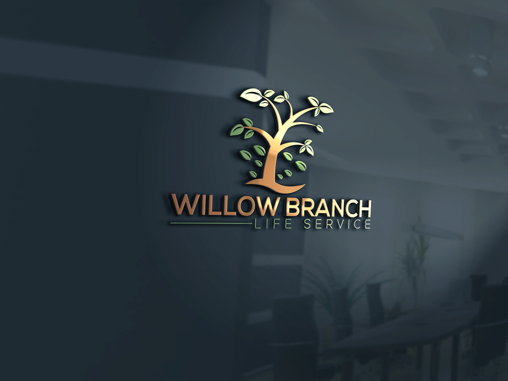 Logo Design by Naeem Billah - Entry No. 116 in the Logo Design Contest Artistic Logo Design for Willow Branch Life Service.