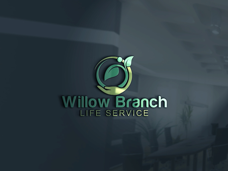Logo Design by One Touch - Entry No. 119 in the Logo Design Contest Artistic Logo Design for Willow Branch Life Service.