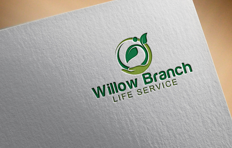 Logo Design by One Touch - Entry No. 120 in the Logo Design Contest Artistic Logo Design for Willow Branch Life Service.
