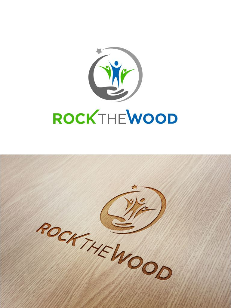 Logo Design by Raymond Garcia - Entry No. 92 in the Logo Design Contest New Logo Design for Rock the Wood.