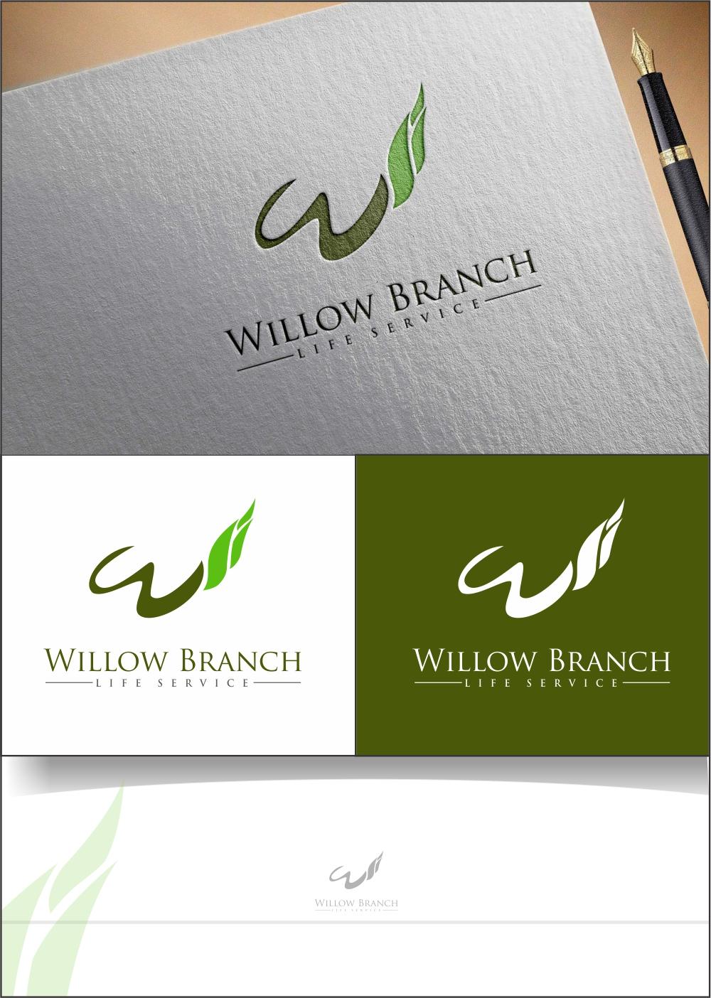 Logo Design by ian69 - Entry No. 121 in the Logo Design Contest Artistic Logo Design for Willow Branch Life Service.