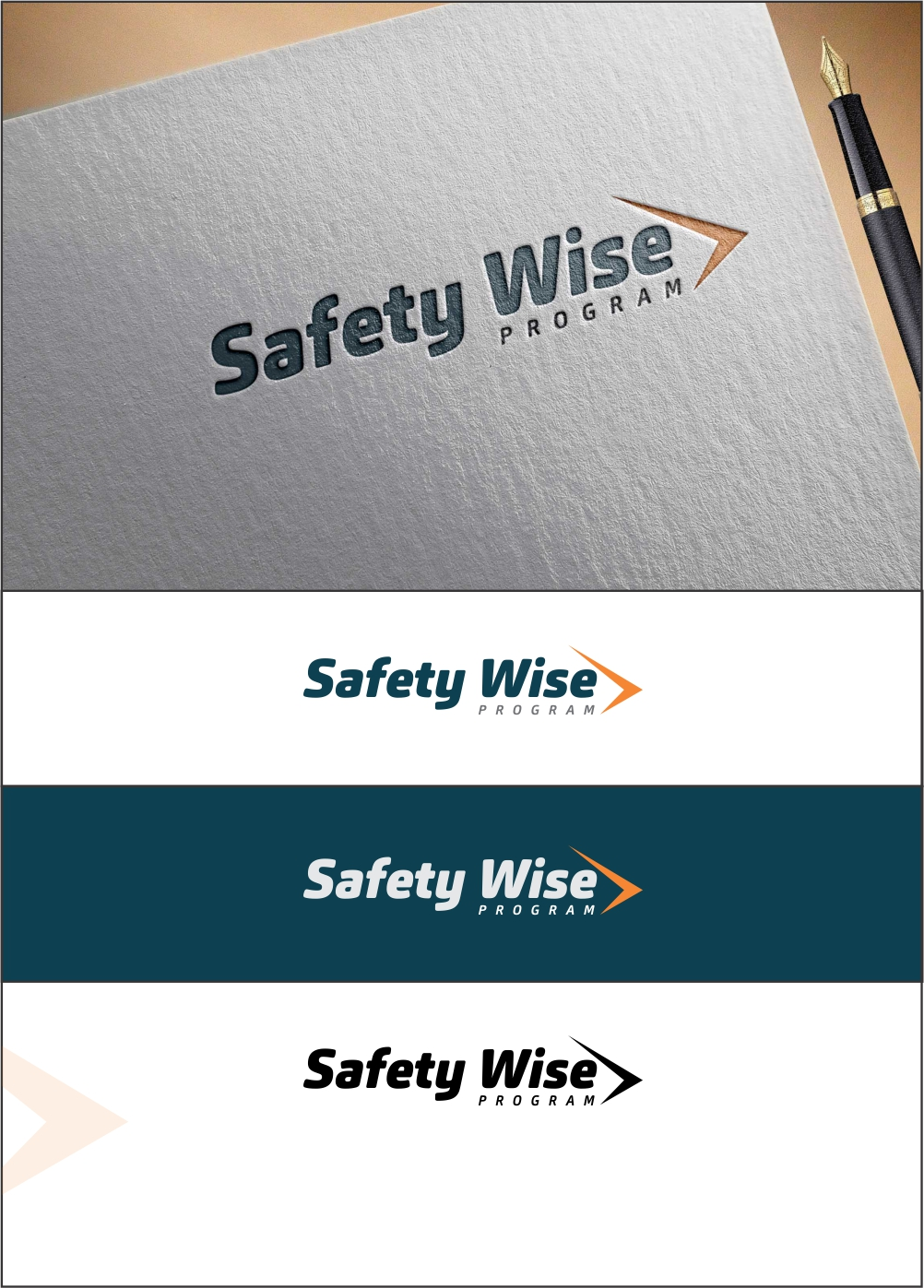 Logo Design by ian69 - Entry No. 152 in the Logo Design Contest New Logo Design for Safety Wise Program.
