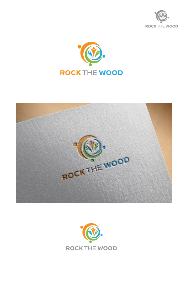 Logo Design by Tauhid Shaikh - Entry No. 94 in the Logo Design Contest New Logo Design for Rock the Wood.