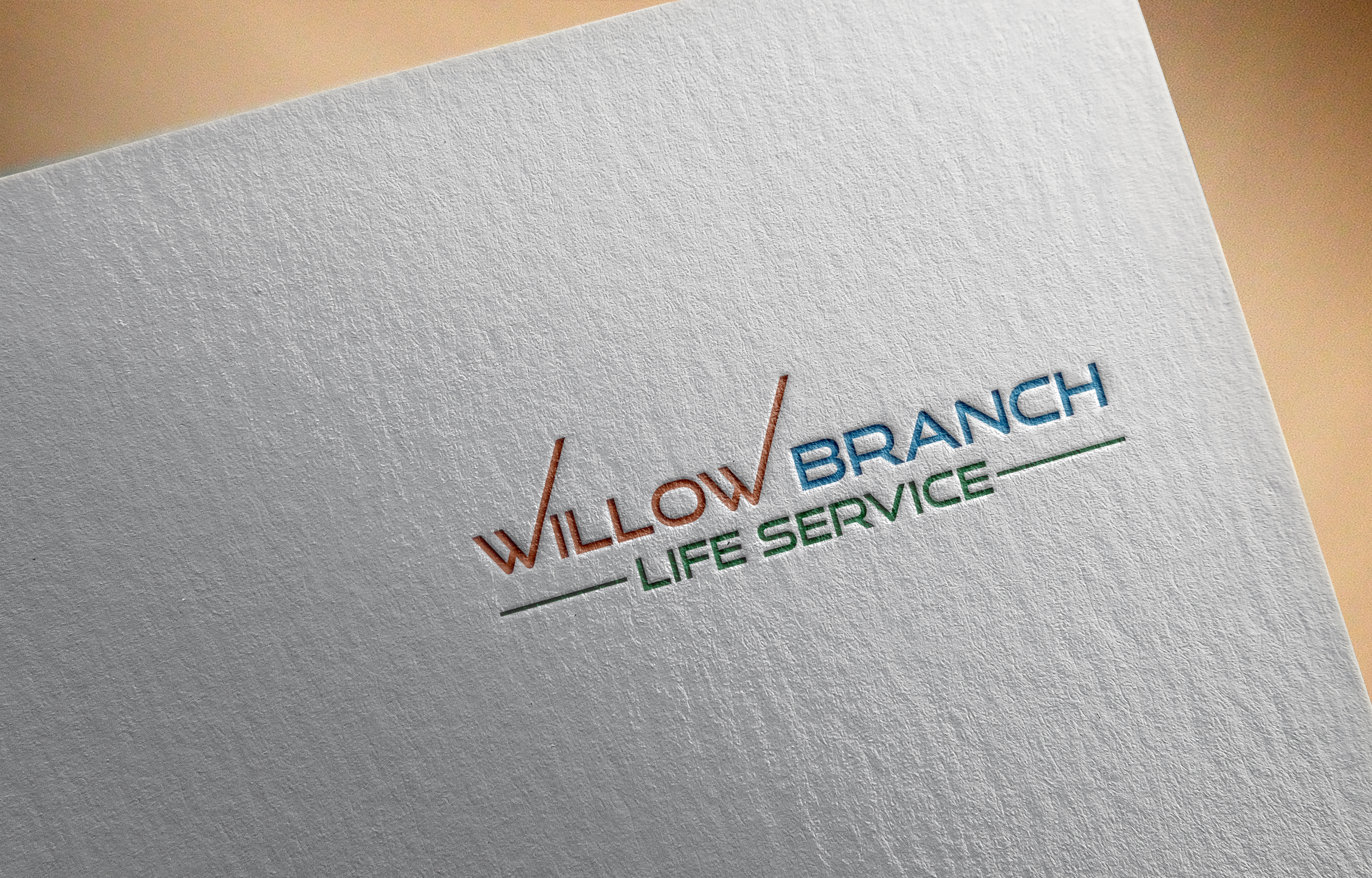 Logo Design by Prohor Ghagra - Entry No. 122 in the Logo Design Contest Artistic Logo Design for Willow Branch Life Service.