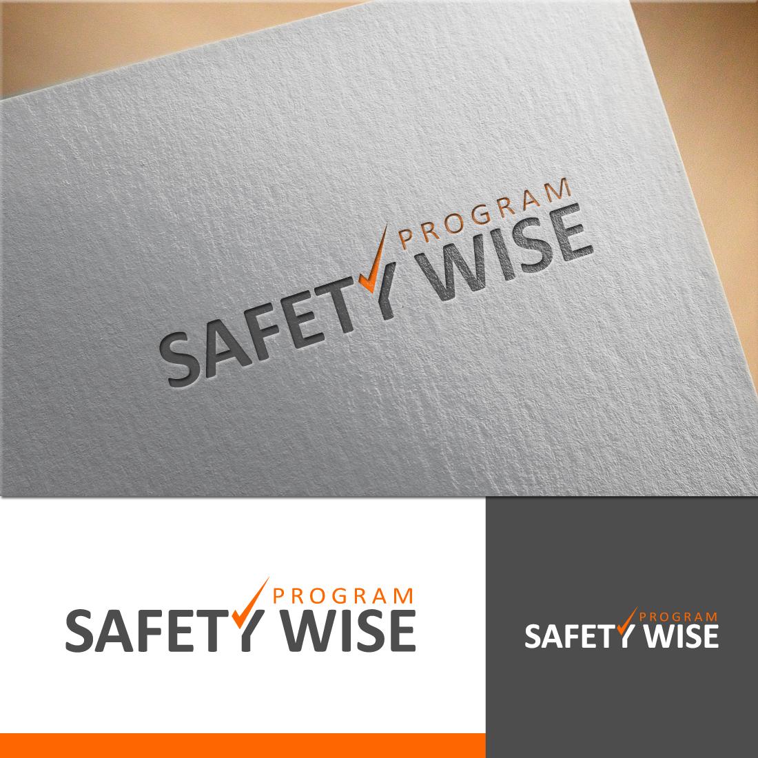 Logo Design by RasYa Muhammad Athaya - Entry No. 154 in the Logo Design Contest New Logo Design for Safety Wise Program.