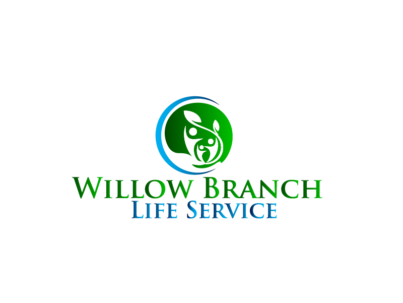 Logo Design by Private User - Entry No. 123 in the Logo Design Contest Artistic Logo Design for Willow Branch Life Service.