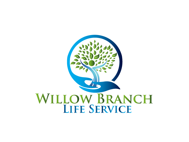 Logo Design by Private User - Entry No. 124 in the Logo Design Contest Artistic Logo Design for Willow Branch Life Service.