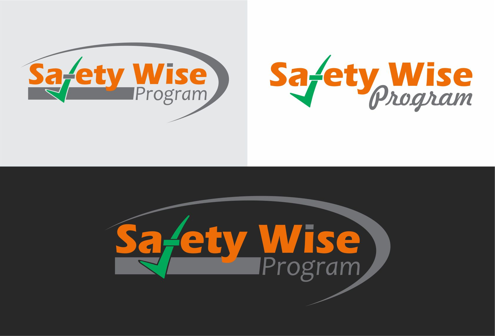 Logo Design by Dilip Aponsu - Entry No. 155 in the Logo Design Contest New Logo Design for Safety Wise Program.