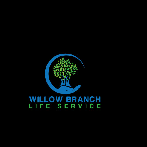 Logo Design by Maksud Rifat - Entry No. 128 in the Logo Design Contest Artistic Logo Design for Willow Branch Life Service.