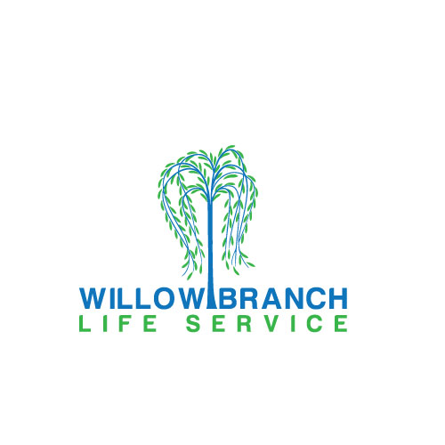 Logo Design by Maksud Rifat - Entry No. 129 in the Logo Design Contest Artistic Logo Design for Willow Branch Life Service.