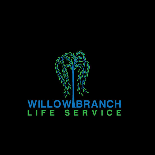 Logo Design by Maksud Rifat - Entry No. 130 in the Logo Design Contest Artistic Logo Design for Willow Branch Life Service.