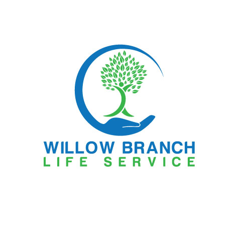 Logo Design by Maksud Rifat - Entry No. 132 in the Logo Design Contest Artistic Logo Design for Willow Branch Life Service.