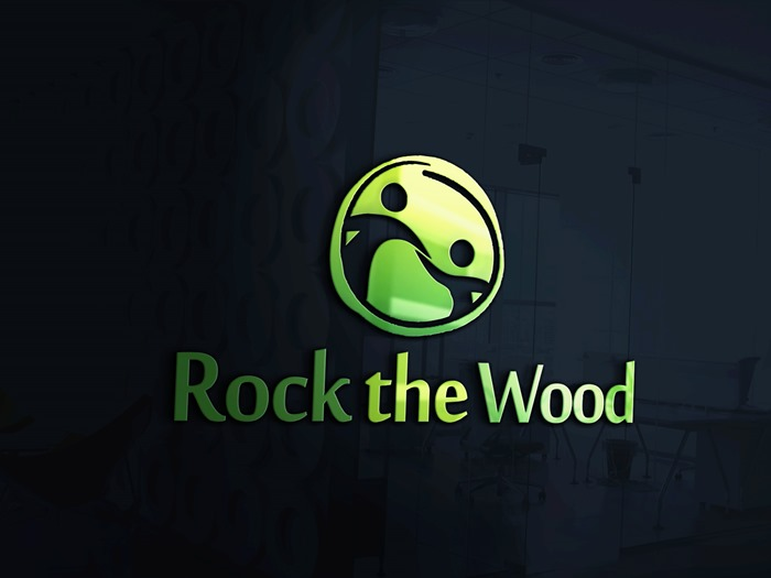 Logo Design by Banyumili - Entry No. 99 in the Logo Design Contest New Logo Design for Rock the Wood.