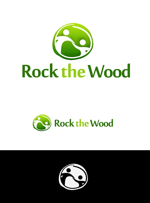 Logo Design by Banyumili - Entry No. 100 in the Logo Design Contest New Logo Design for Rock the Wood.