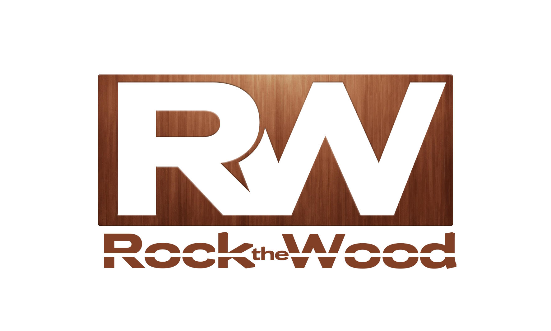 Logo Design by Private User - Entry No. 101 in the Logo Design Contest New Logo Design for Rock the Wood.