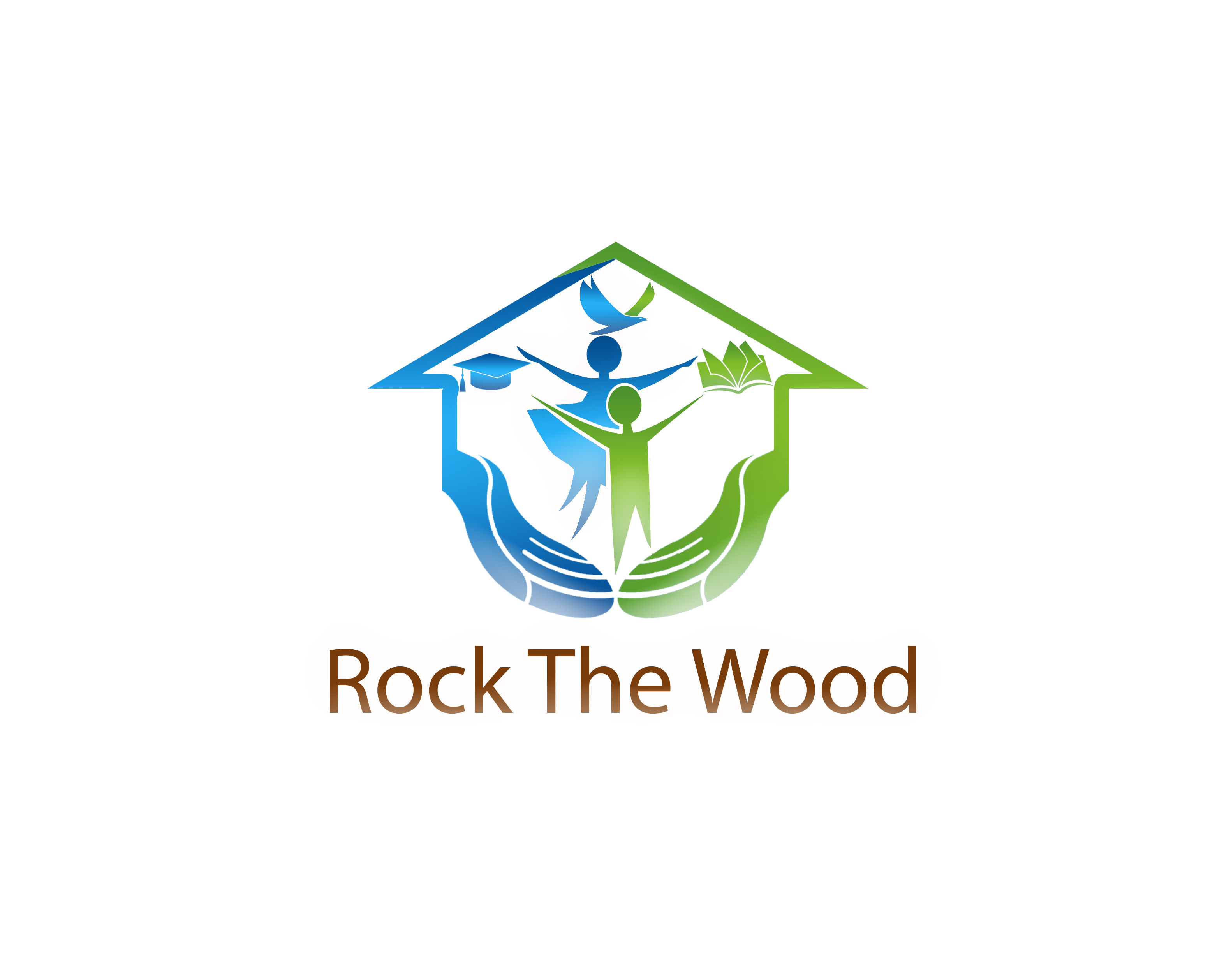 Logo Design by JSDESIGNGROUP - Entry No. 104 in the Logo Design Contest New Logo Design for Rock the Wood.