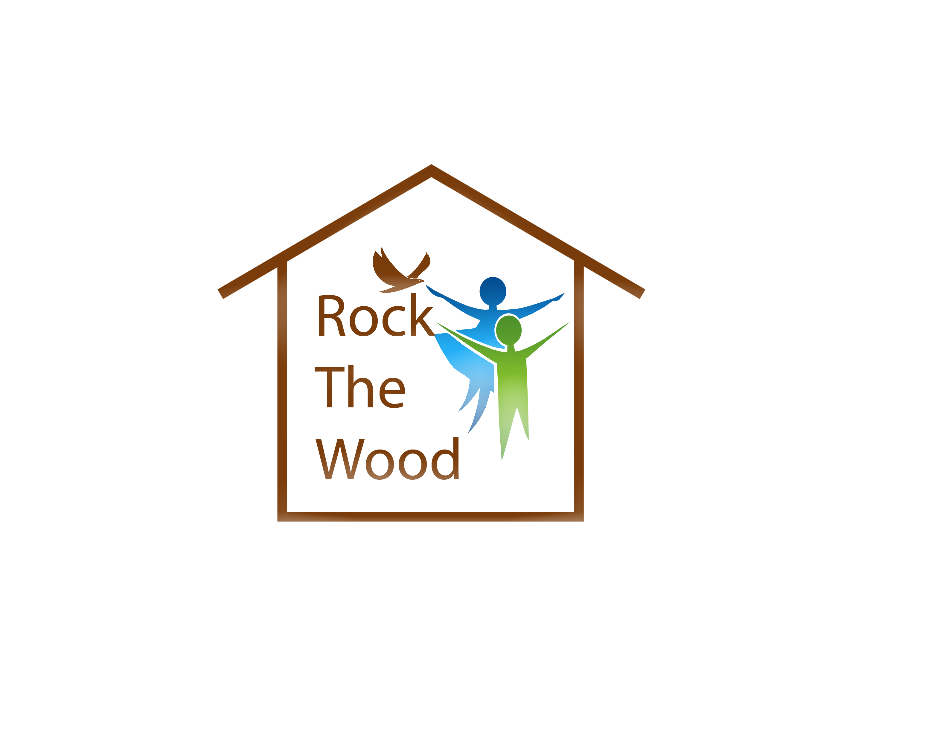 Logo Design by JSDESIGNGROUP - Entry No. 106 in the Logo Design Contest New Logo Design for Rock the Wood.