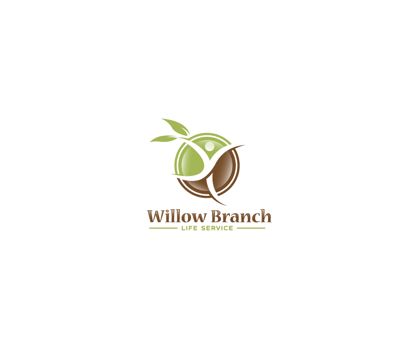 Logo Design by Tauhid Shaikh - Entry No. 139 in the Logo Design Contest Artistic Logo Design for Willow Branch Life Service.
