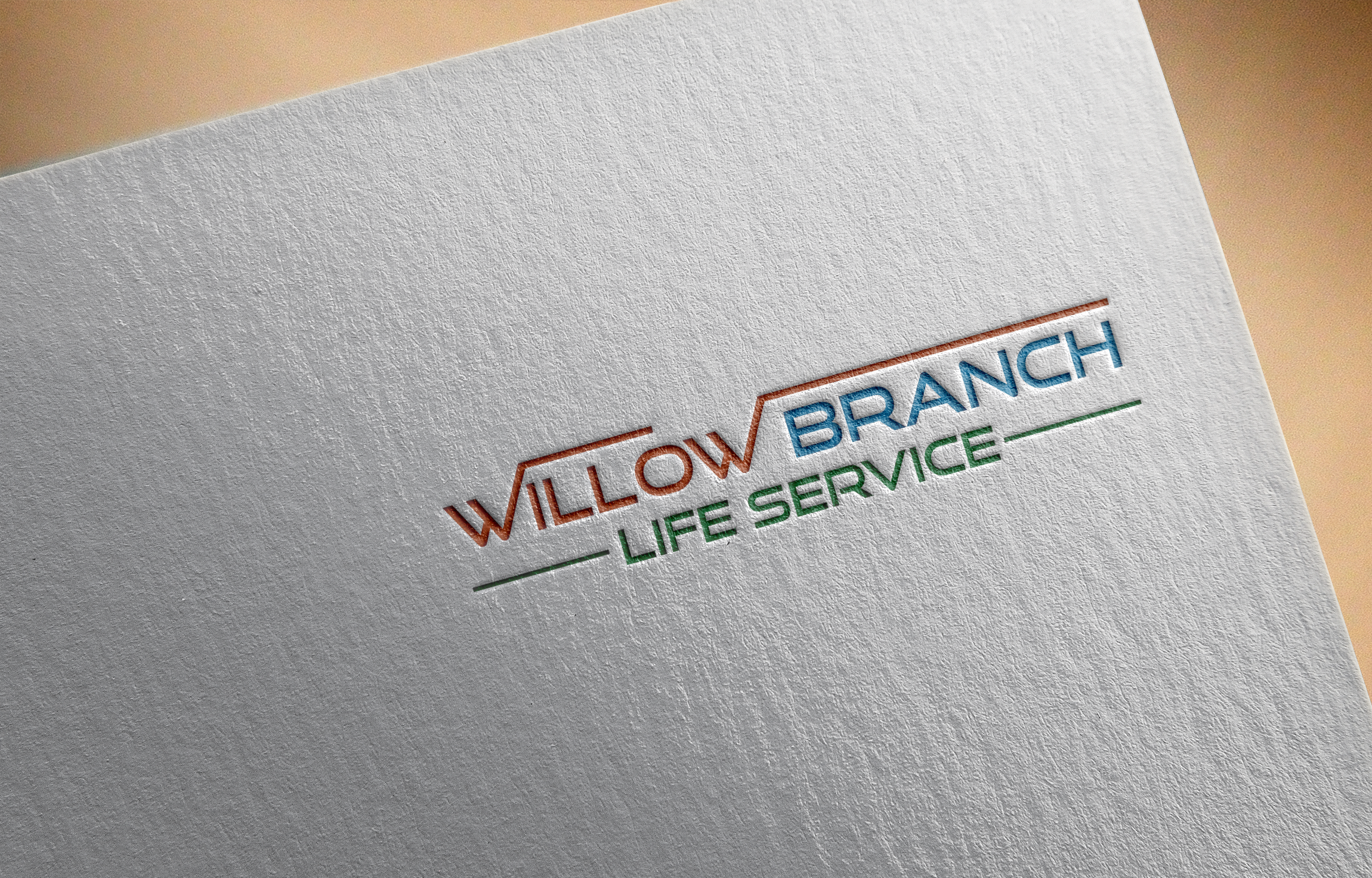 Logo Design by Prohor Ghagra - Entry No. 140 in the Logo Design Contest Artistic Logo Design for Willow Branch Life Service.