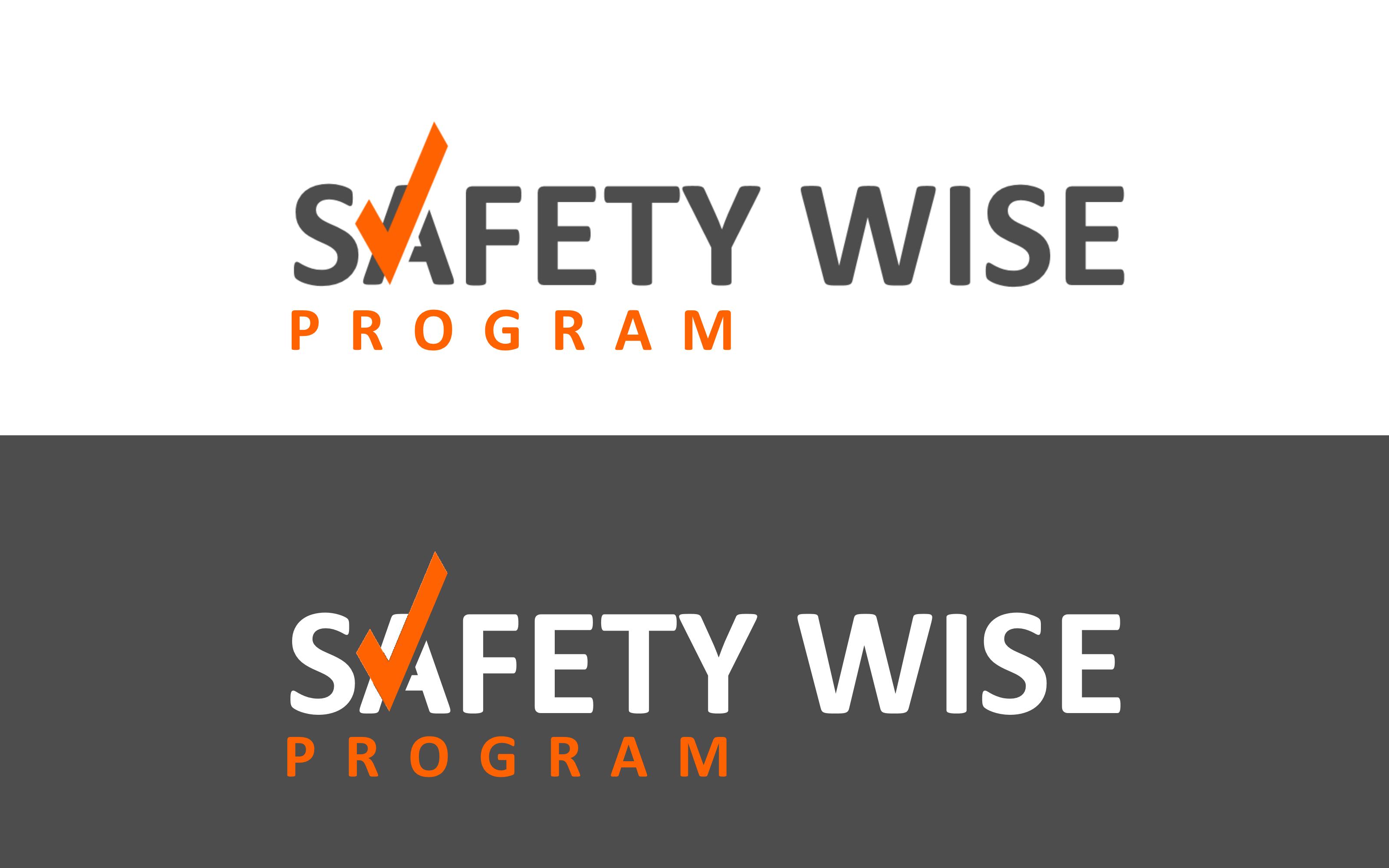 Logo Design by Roberto Bassi - Entry No. 164 in the Logo Design Contest New Logo Design for Safety Wise Program.