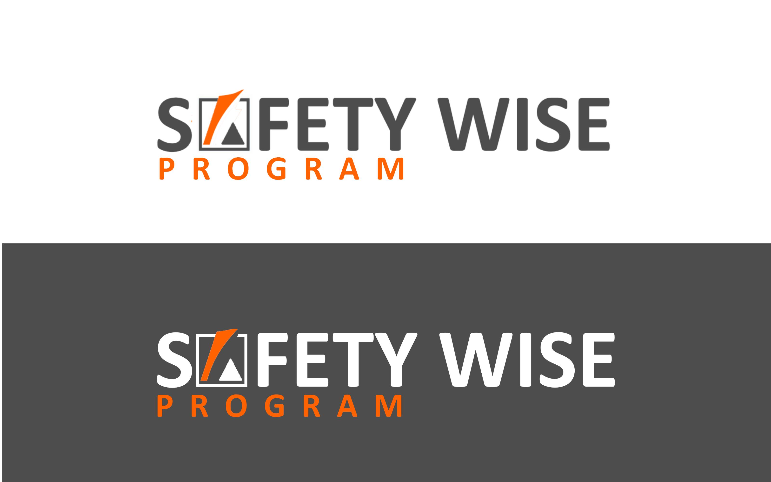 Logo Design by Roberto Bassi - Entry No. 165 in the Logo Design Contest New Logo Design for Safety Wise Program.