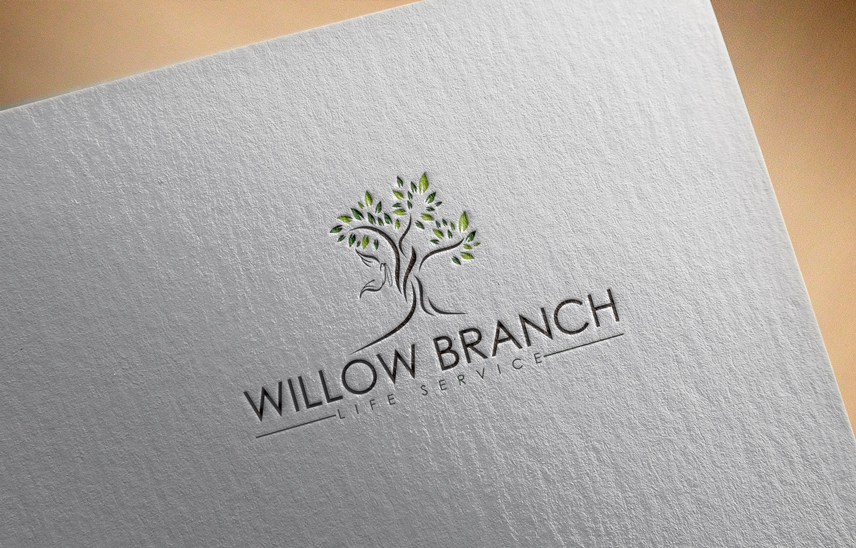 Logo Design by Private User - Entry No. 141 in the Logo Design Contest Artistic Logo Design for Willow Branch Life Service.