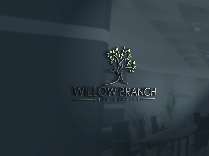 Logo Design by Private User - Entry No. 142 in the Logo Design Contest Artistic Logo Design for Willow Branch Life Service.