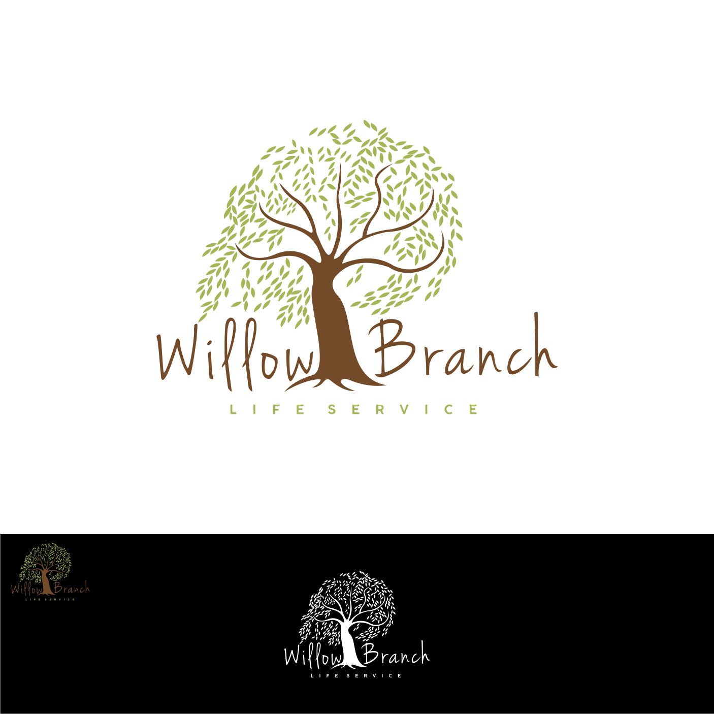 Logo Design by Analla Art - Entry No. 143 in the Logo Design Contest Artistic Logo Design for Willow Branch Life Service.