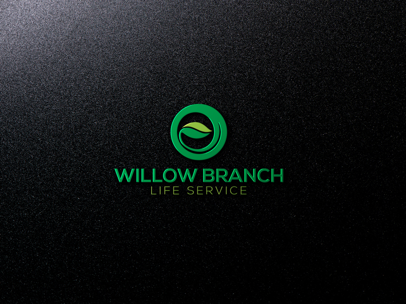 Logo Design by Mohammad azad Hossain - Entry No. 147 in the Logo Design Contest Artistic Logo Design for Willow Branch Life Service.