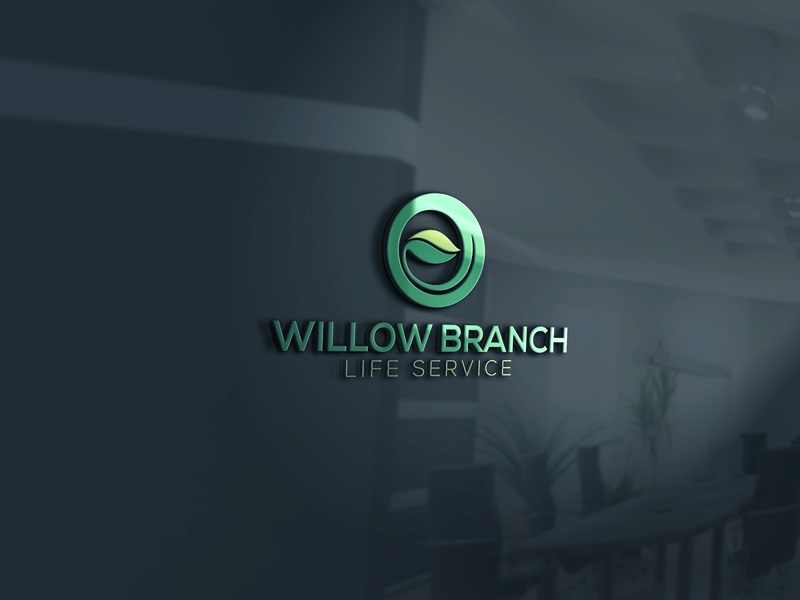 Logo Design by Mohammad azad Hossain - Entry No. 148 in the Logo Design Contest Artistic Logo Design for Willow Branch Life Service.