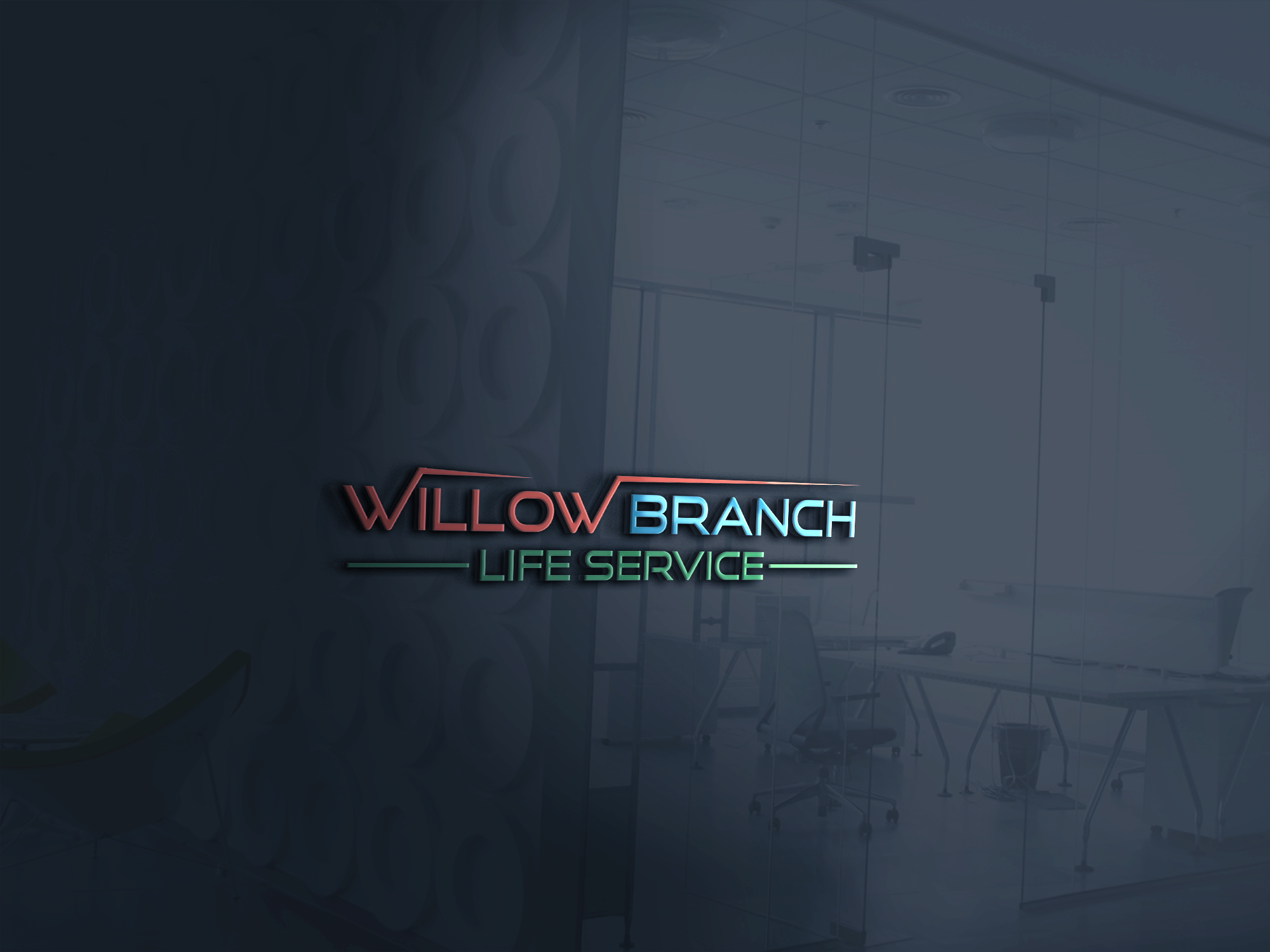 Logo Design by Prohor Ghagra - Entry No. 153 in the Logo Design Contest Artistic Logo Design for Willow Branch Life Service.