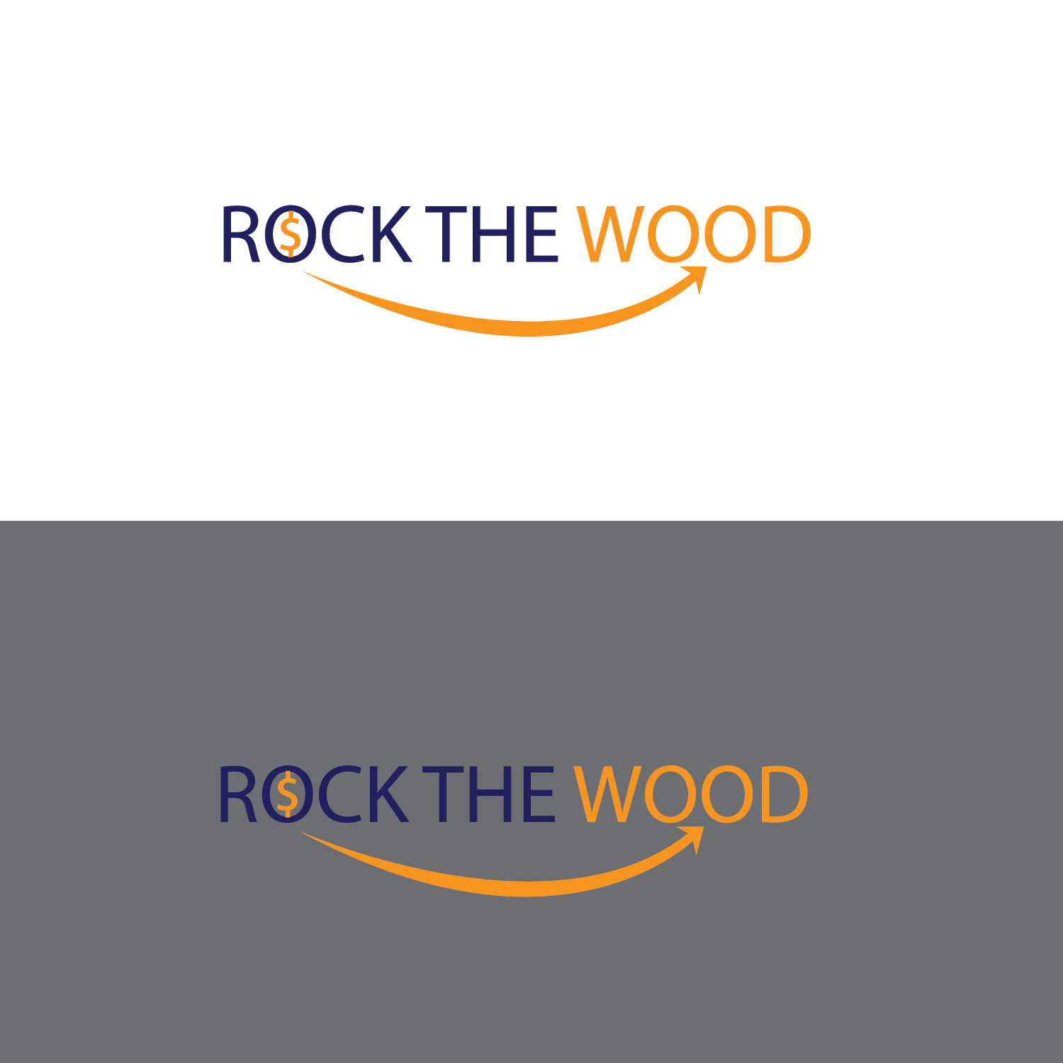 Logo Design by Shadman Sakib - Entry No. 111 in the Logo Design Contest New Logo Design for Rock the Wood.