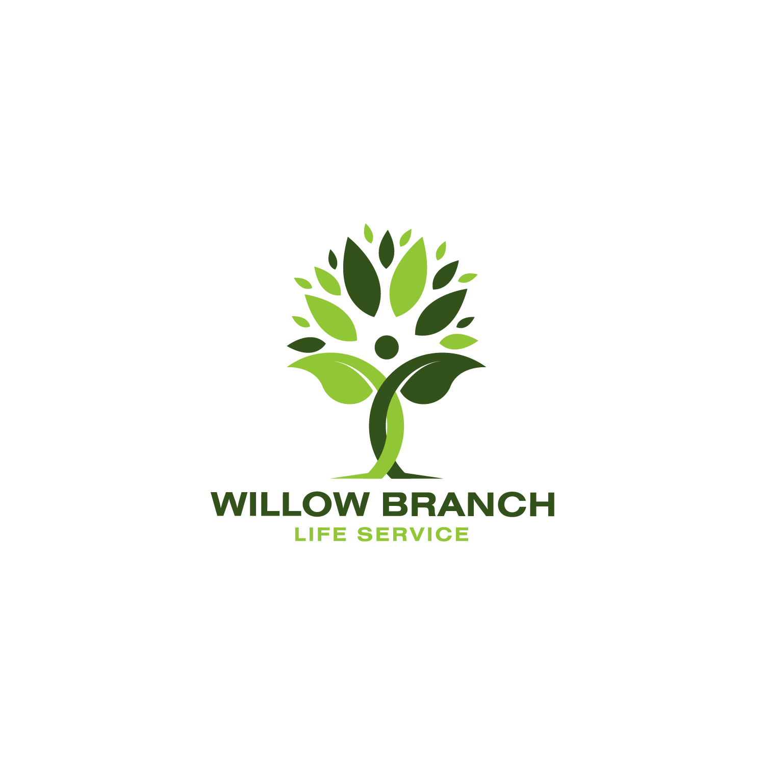 Logo Design by Batter Fly - Entry No. 155 in the Logo Design Contest Artistic Logo Design for Willow Branch Life Service.