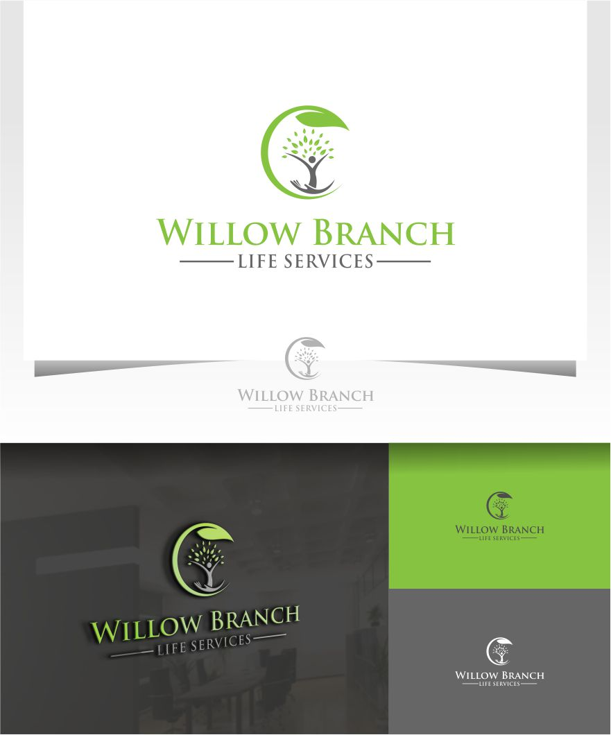 Logo Design by Raymond Garcia - Entry No. 157 in the Logo Design Contest Artistic Logo Design for Willow Branch Life Service.