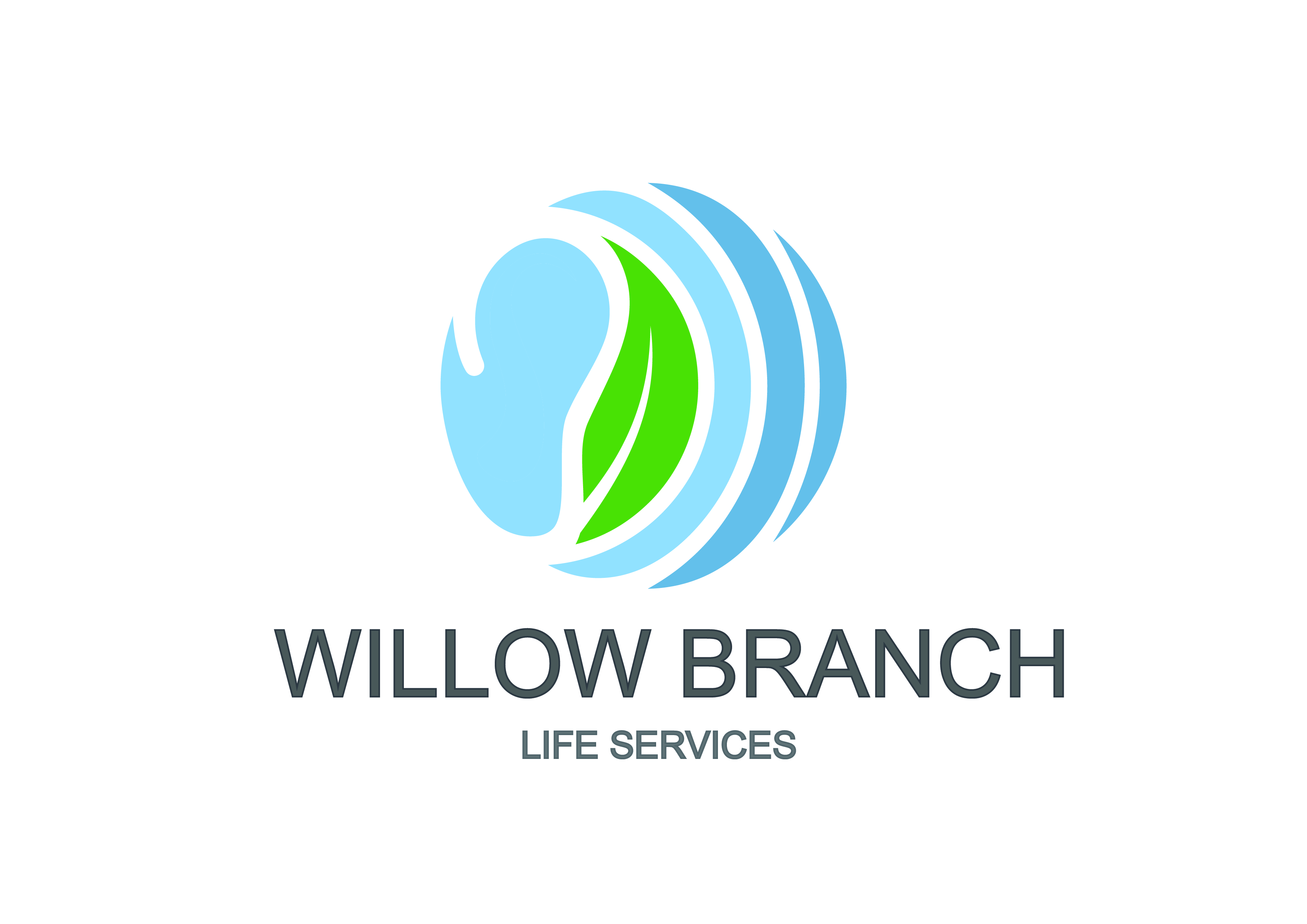 Logo Design by Anum Aamir - Entry No. 160 in the Logo Design Contest Artistic Logo Design for Willow Branch Life Service.