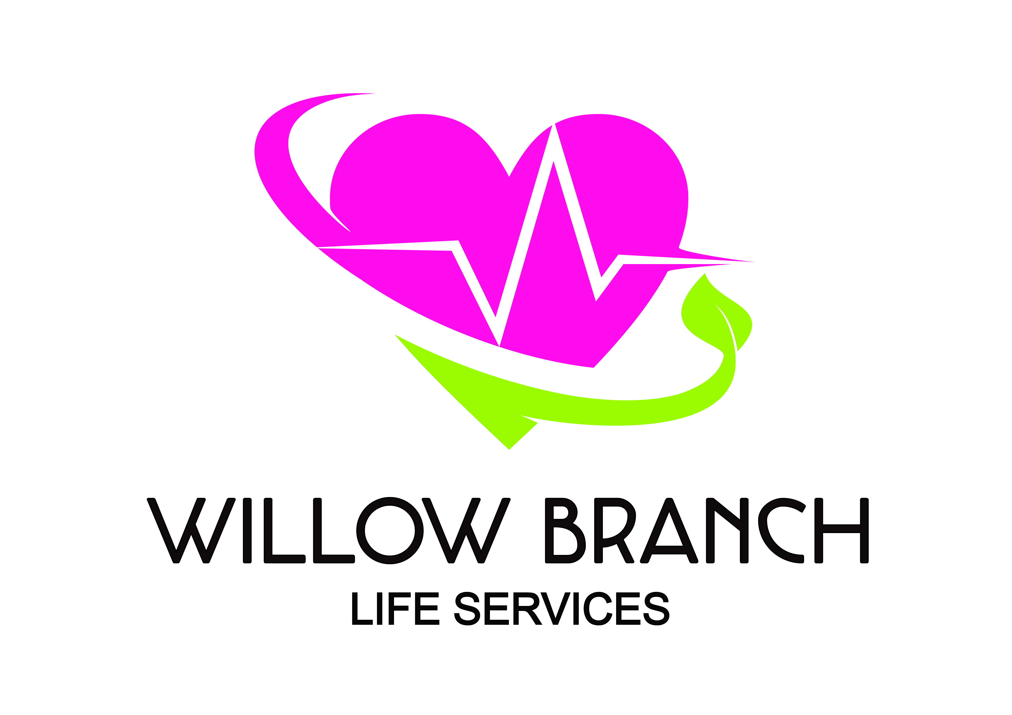 Logo Design by Anum Aamir - Entry No. 162 in the Logo Design Contest Artistic Logo Design for Willow Branch Life Service.