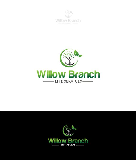 Logo Design by Raymond Garcia - Entry No. 164 in the Logo Design Contest Artistic Logo Design for Willow Branch Life Service.