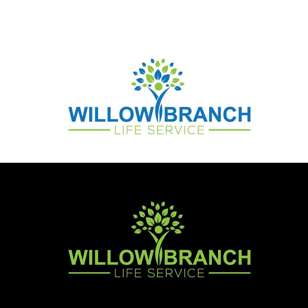 Logo Design by Imtaslim Taslima - Entry No. 166 in the Logo Design Contest Artistic Logo Design for Willow Branch Life Service.
