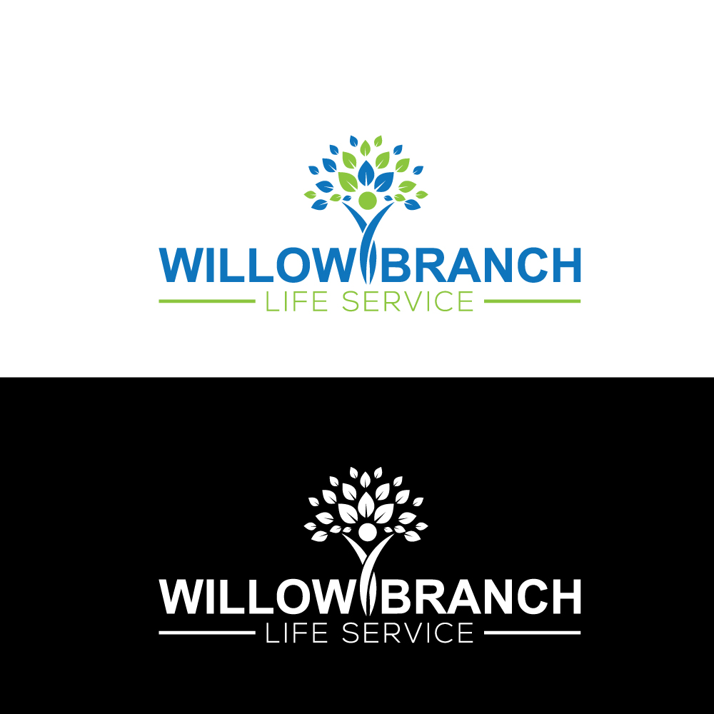 Logo Design by Imtaslim Taslima - Entry No. 167 in the Logo Design Contest Artistic Logo Design for Willow Branch Life Service.
