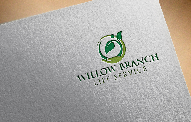 Logo Design by One Touch - Entry No. 169 in the Logo Design Contest Artistic Logo Design for Willow Branch Life Service.