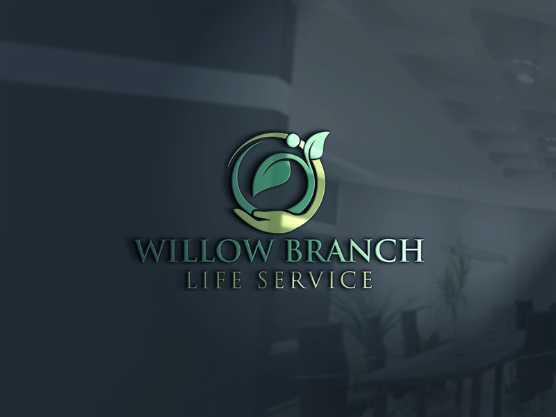 Logo Design by One Touch - Entry No. 170 in the Logo Design Contest Artistic Logo Design for Willow Branch Life Service.