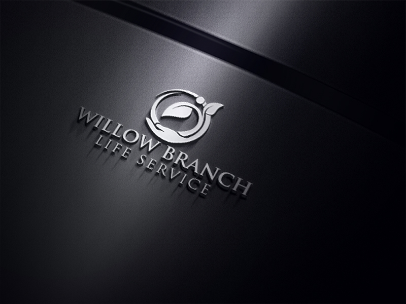 Logo Design by One Touch - Entry No. 171 in the Logo Design Contest Artistic Logo Design for Willow Branch Life Service.