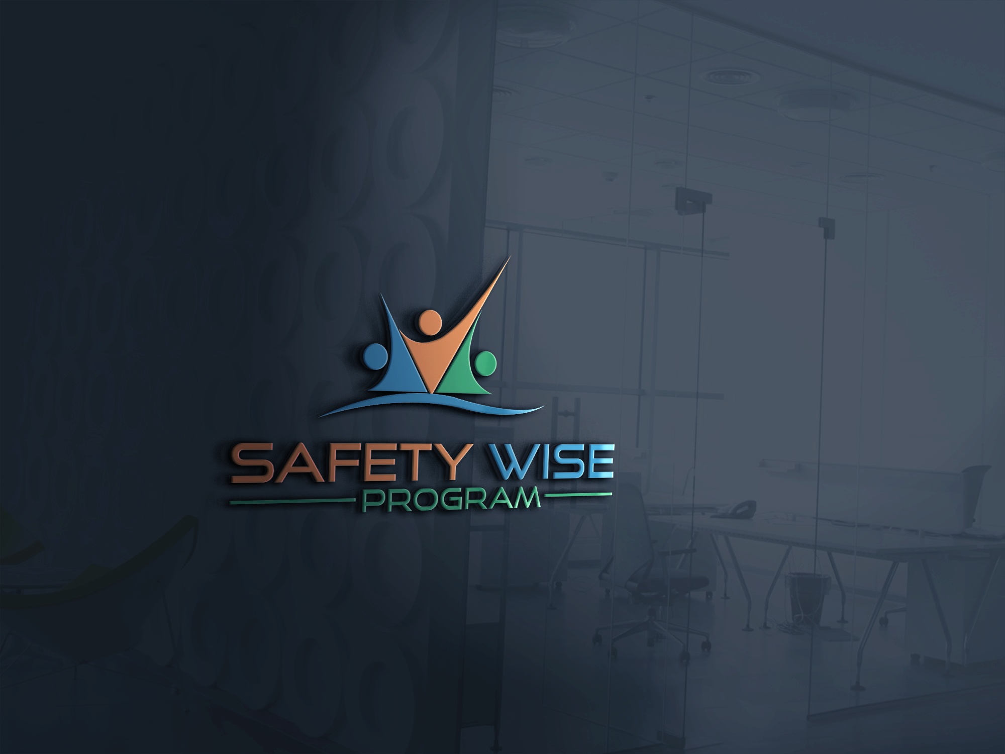Logo Design by Prohor Ghagra - Entry No. 181 in the Logo Design Contest New Logo Design for Safety Wise Program.