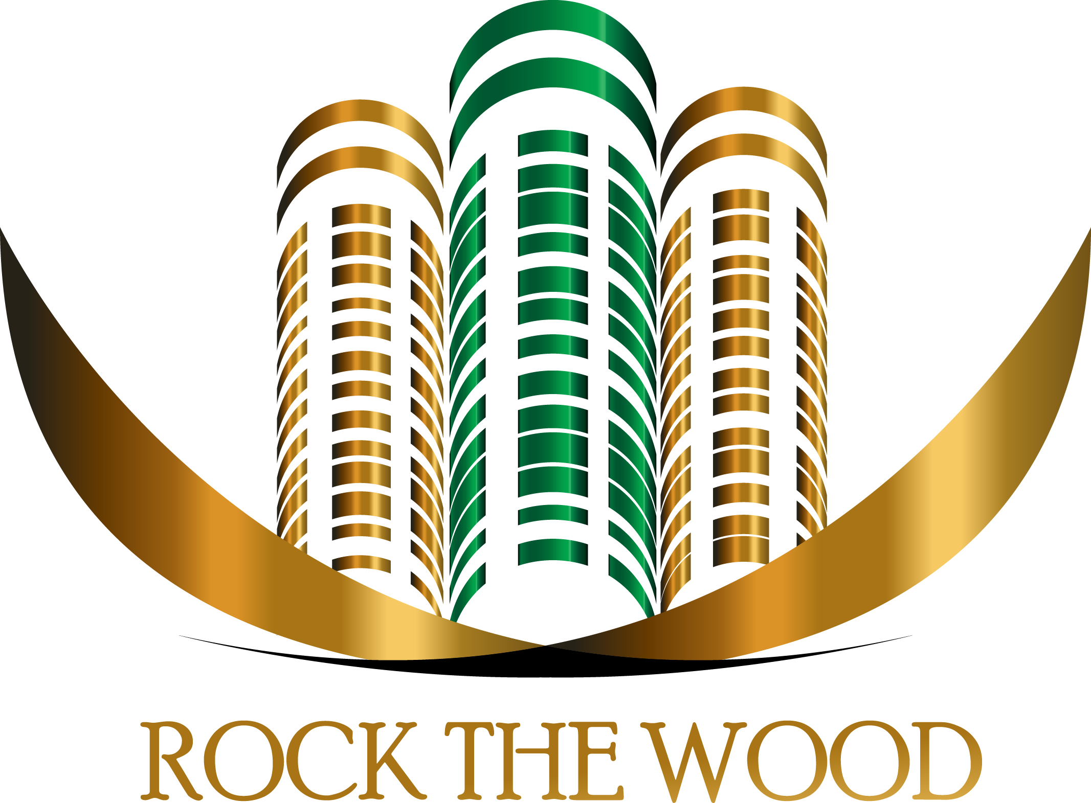 Logo Design by Inno - Entry No. 120 in the Logo Design Contest New Logo Design for Rock the Wood.