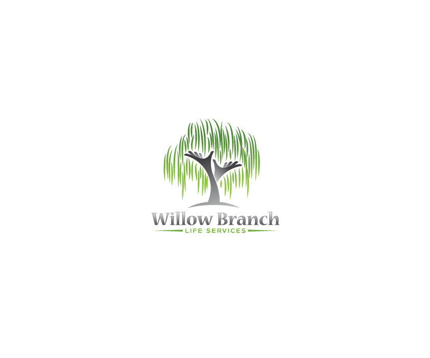 Logo Design by Tauhid Shaikh - Entry No. 176 in the Logo Design Contest Artistic Logo Design for Willow Branch Life Service.