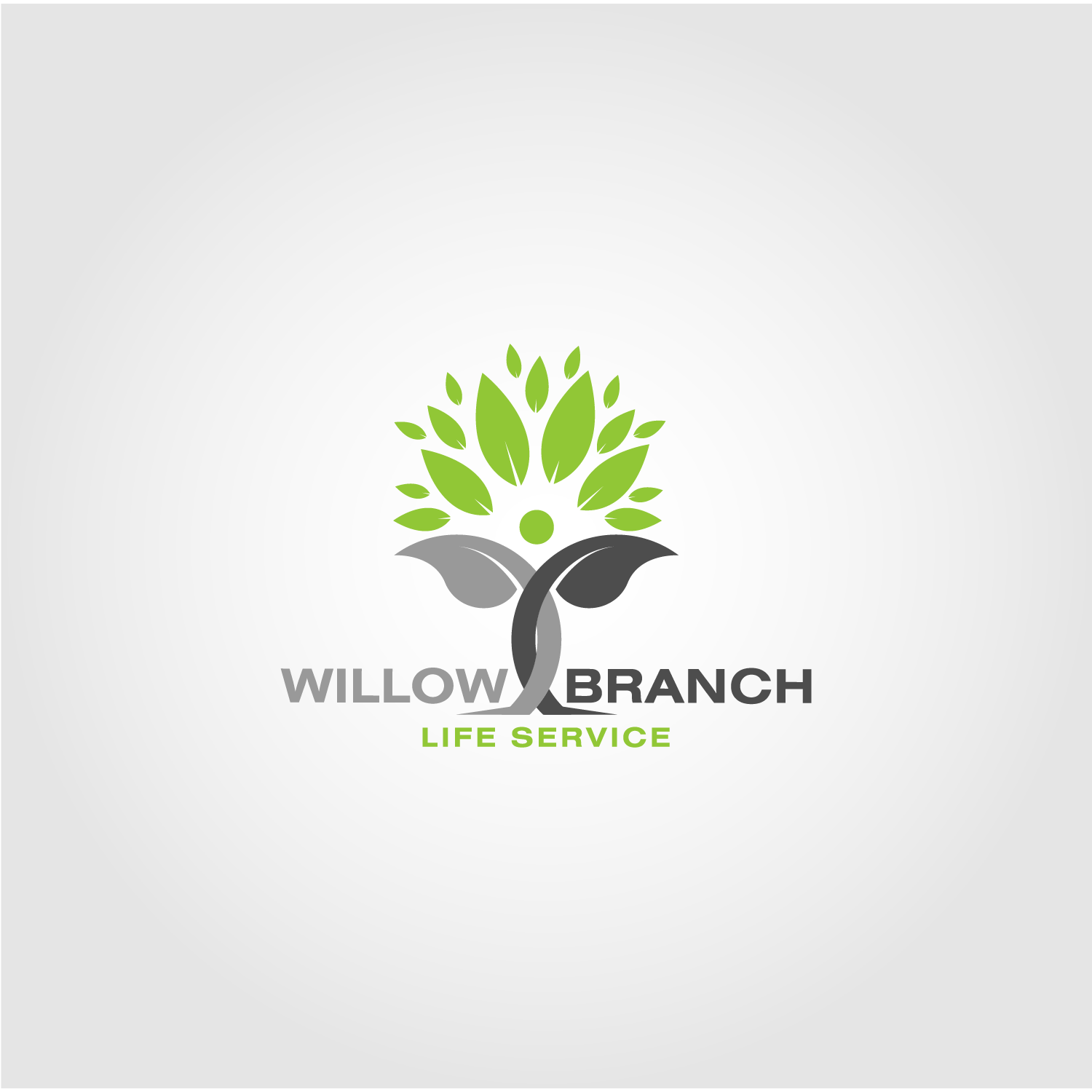 Logo Design by Batter Fly - Entry No. 177 in the Logo Design Contest Artistic Logo Design for Willow Branch Life Service.
