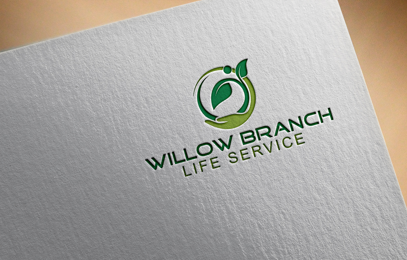 Logo Design by One Touch - Entry No. 179 in the Logo Design Contest Artistic Logo Design for Willow Branch Life Service.