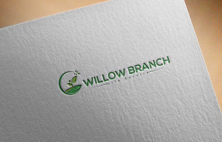 Logo Design by Private User - Entry No. 180 in the Logo Design Contest Artistic Logo Design for Willow Branch Life Service.