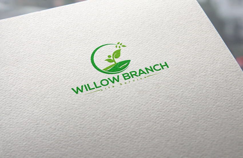Logo Design by Private User - Entry No. 181 in the Logo Design Contest Artistic Logo Design for Willow Branch Life Service.